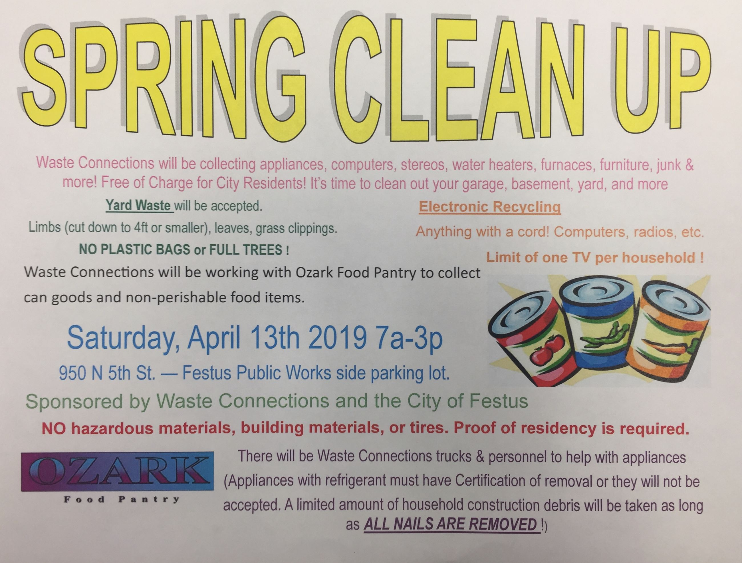 spring clean up city