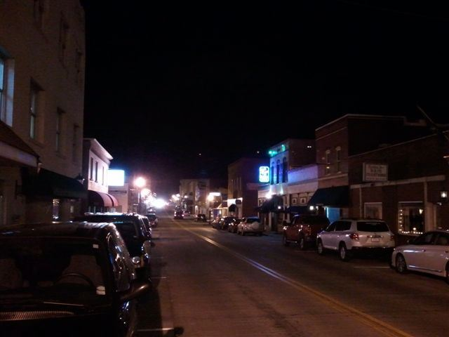 Downtown at Night